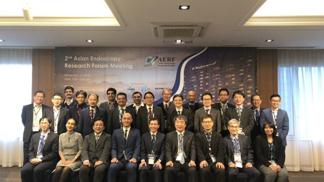 Siriraj's Deputy Dean Attended the 2nd Asian Endoscopy Research Forum Meeting in Korea