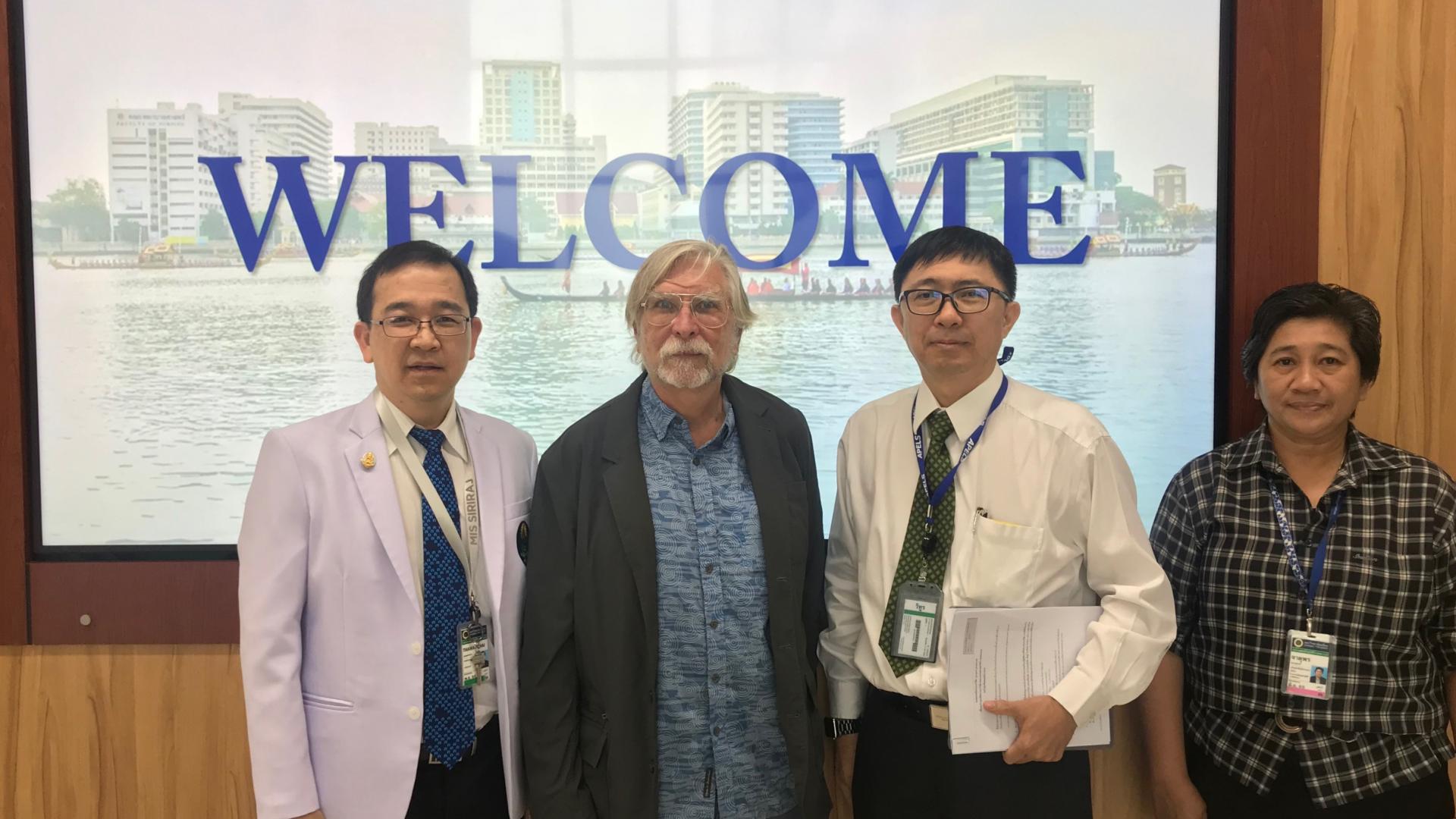 Director of Office of Global Health and International Medicine, John A. Burn School of Medicine, Hawaii Visits Siriraj