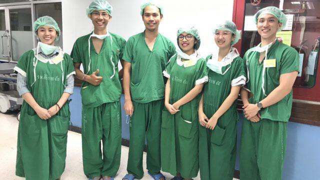 Medical Students From Vietnam National University Ho Chi Minh City visits Urology Surgery Operation