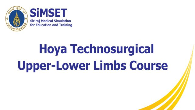 Hoya Technosurgical Upper-Lower Limbs Course