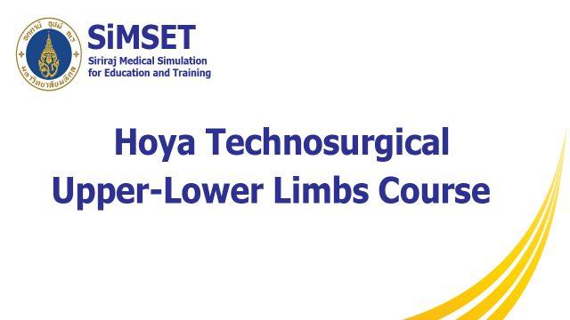 Hoya Technosurgical Upper-Lower Limbs Course