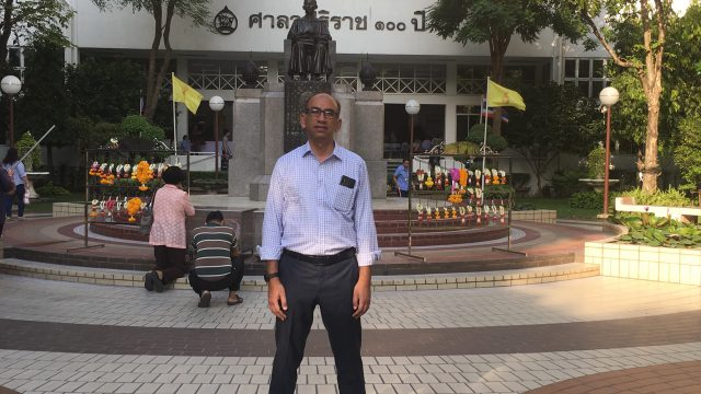 Professor from All India Institute of Medical Science Attend the Short Training Program at Siriraj