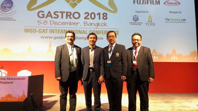 Siriraj Attend the GASTRO 2018 Congress