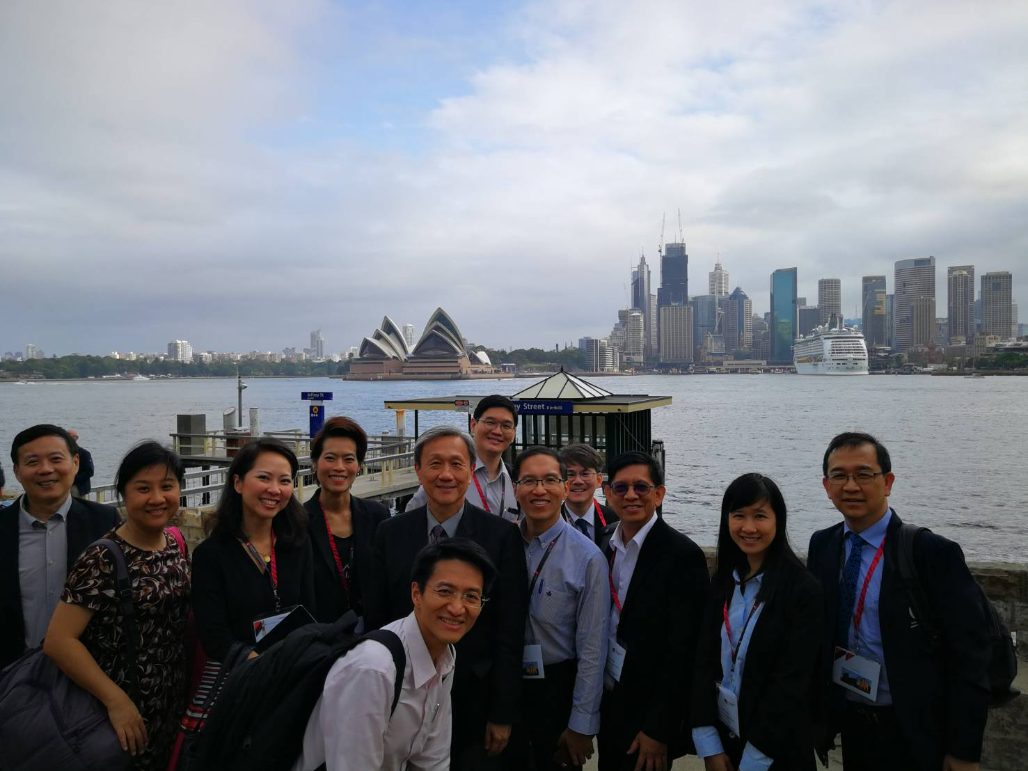 "Siriraj Attended ""Cotutelle & Joint Ph.D. 2019 International Research Training Partnerships Workshop"" in Australia"