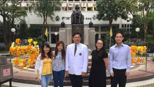Ph.D. Students from Lee Kong Chian Undertook Research Elective at Siriraj