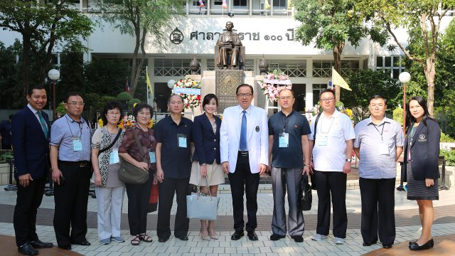 Ministry of Health of D.P.R. Korea Visits Siriraj