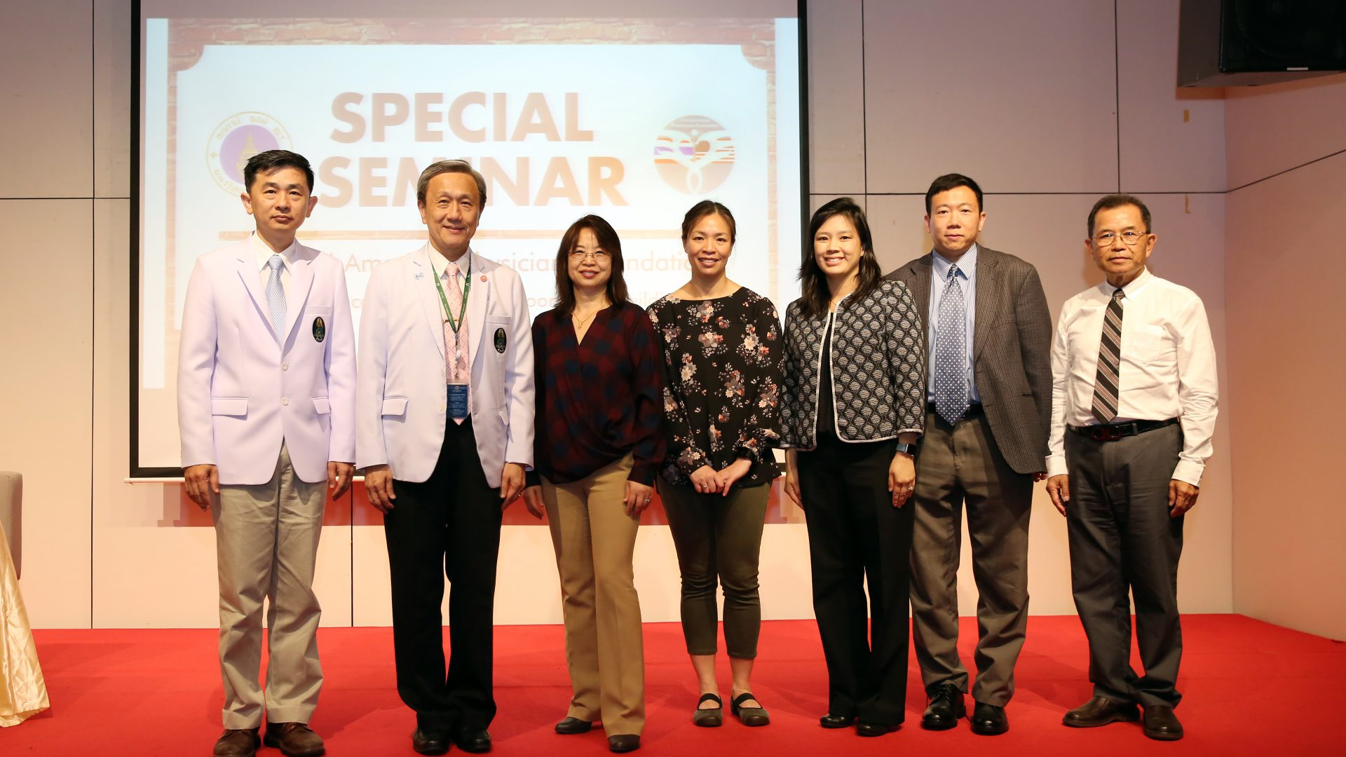 Thai-American Physicians Foundation Lecture Series at Siriraj Hospital