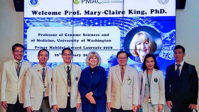 Prince Mahidol Laureate 2018 Delivered a Special Lecture at Siriraj