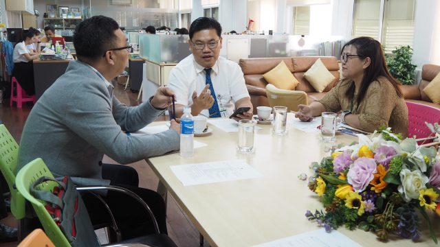 Research and Education Discussion with NUS, Singapore