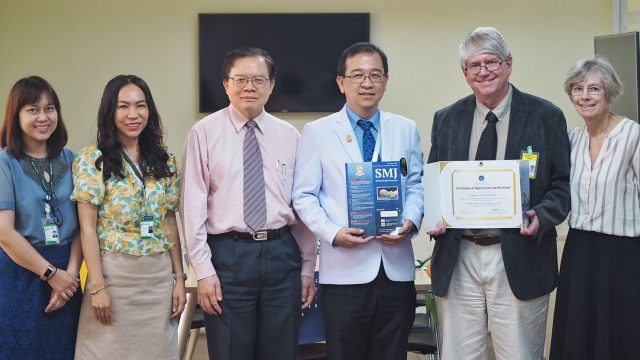 Siriraj International Visiting Scholars