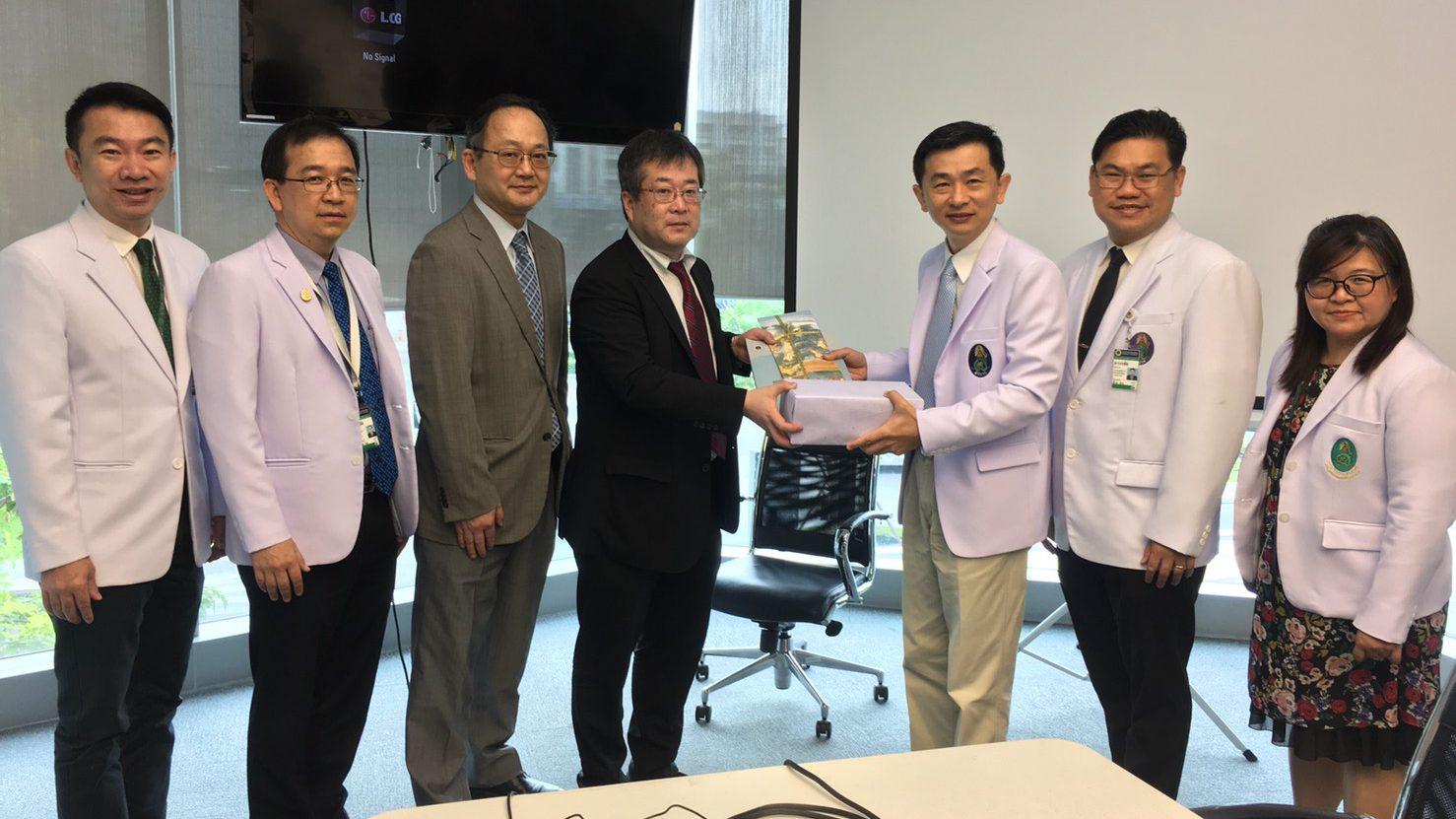 Delegates from School of Medicine Kobe University Visited Siriraj