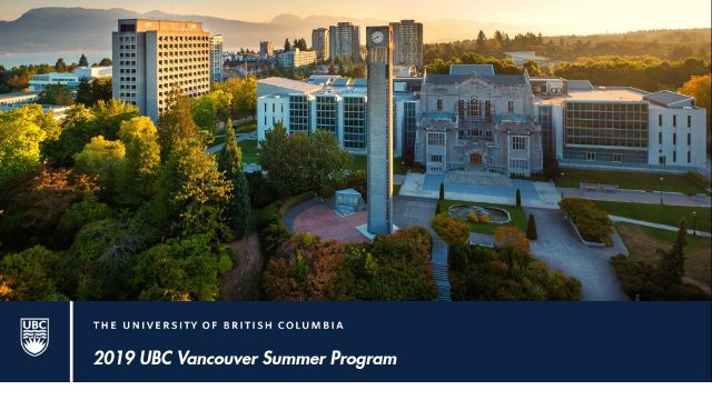 2019 UBC Vancouver Summer Program