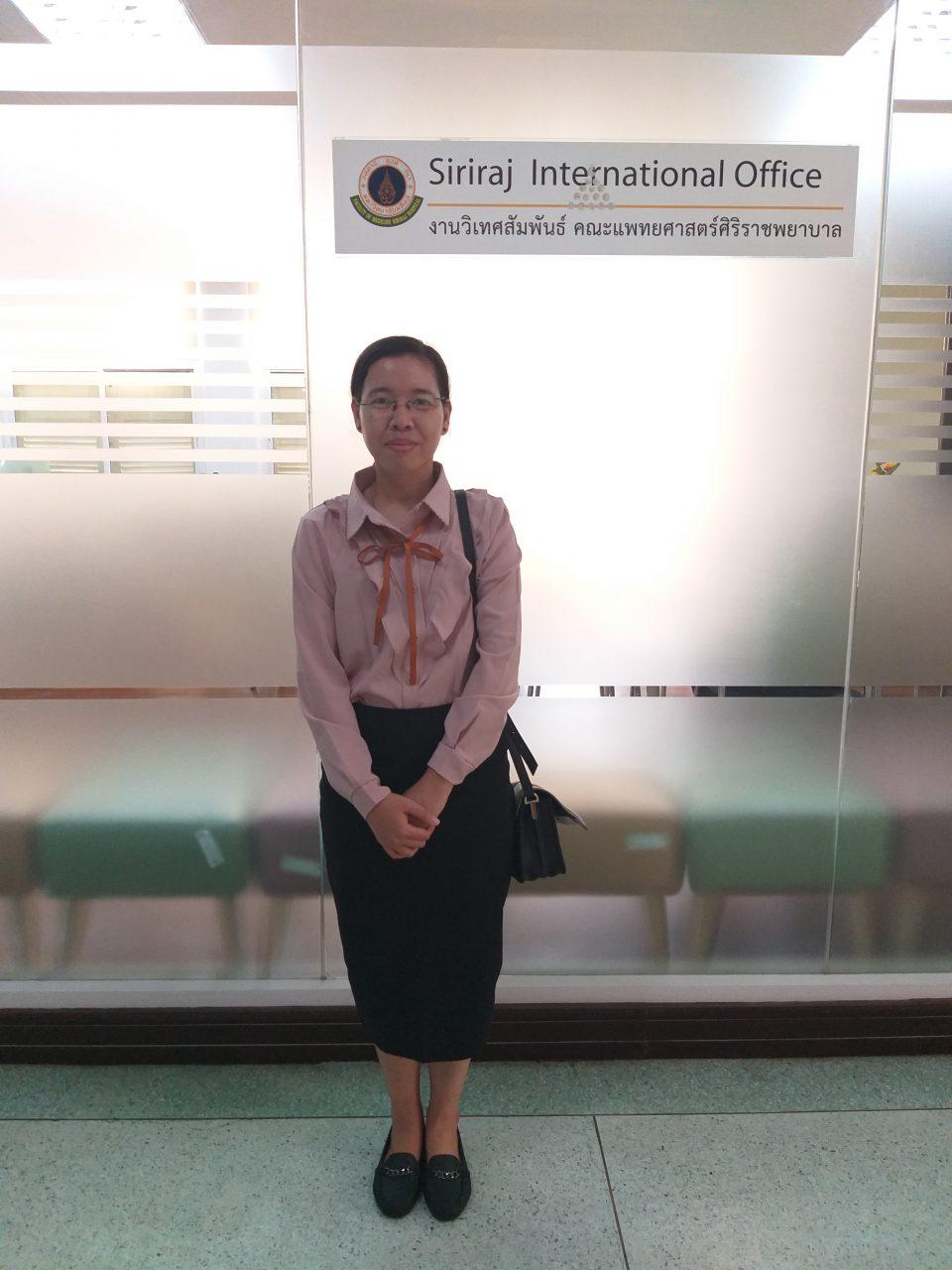 Siriraj Scholarship for ASEAN Doctors and Developing
