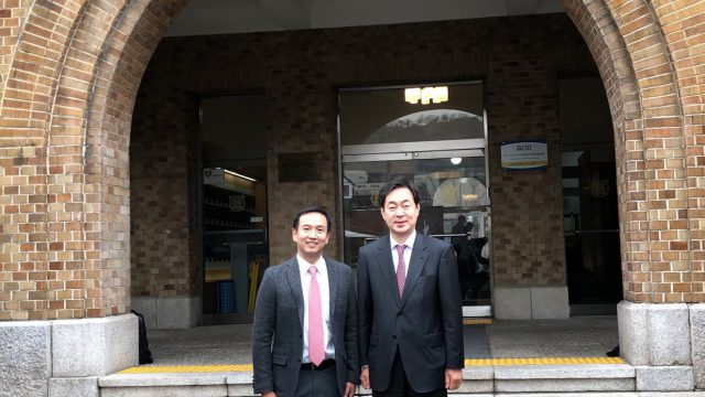 Siriraj's Assistant Dean Visited Seoul National University College of Medicine