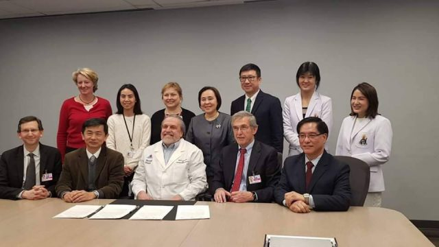 MOU in Wheat Allergy Research between Siriraj-SAI-Icahn School of Medicine at Mount Sinai