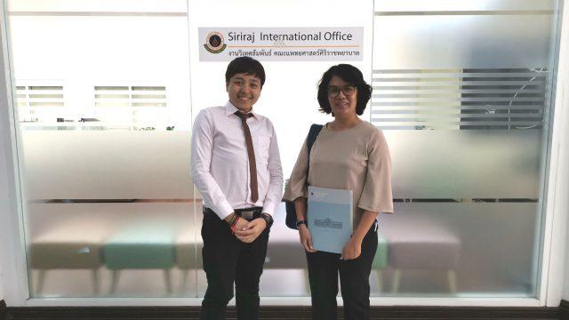 Hematologist from Myanmar Trained at Siriraj-Thalassemia COE