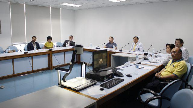 Ukrainian Government Officials Visits Siriraj