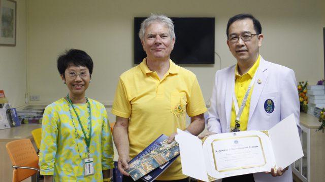 Siriraj International Visiting Scholar at Department of Immunology