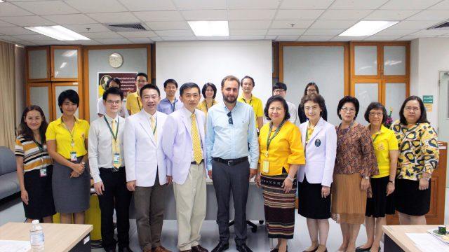 Macquarie University Visits Siriraj