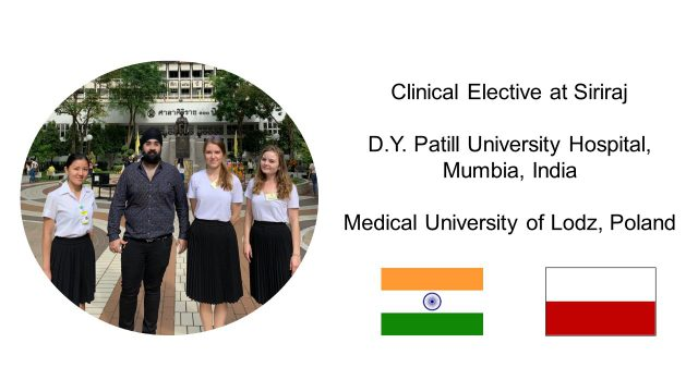 Clinical Elective at Siriraj