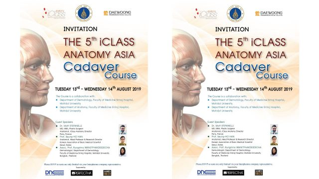 The 5th iCLASS ANATOMY ASIA Cadaver Course