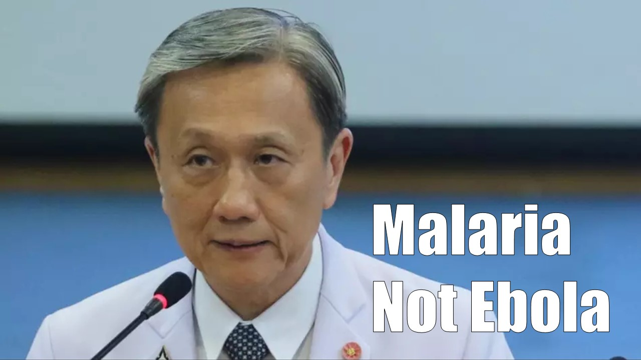 Siriraj Confirmed, Thai Patient Died from Malaria, Not Ebola!
