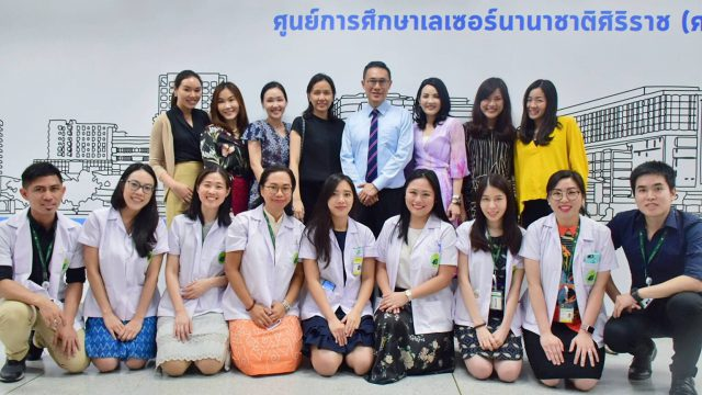 """The 4th Cadaver and Hands-on Workshop for Fillers Injection"" at Siriraj"