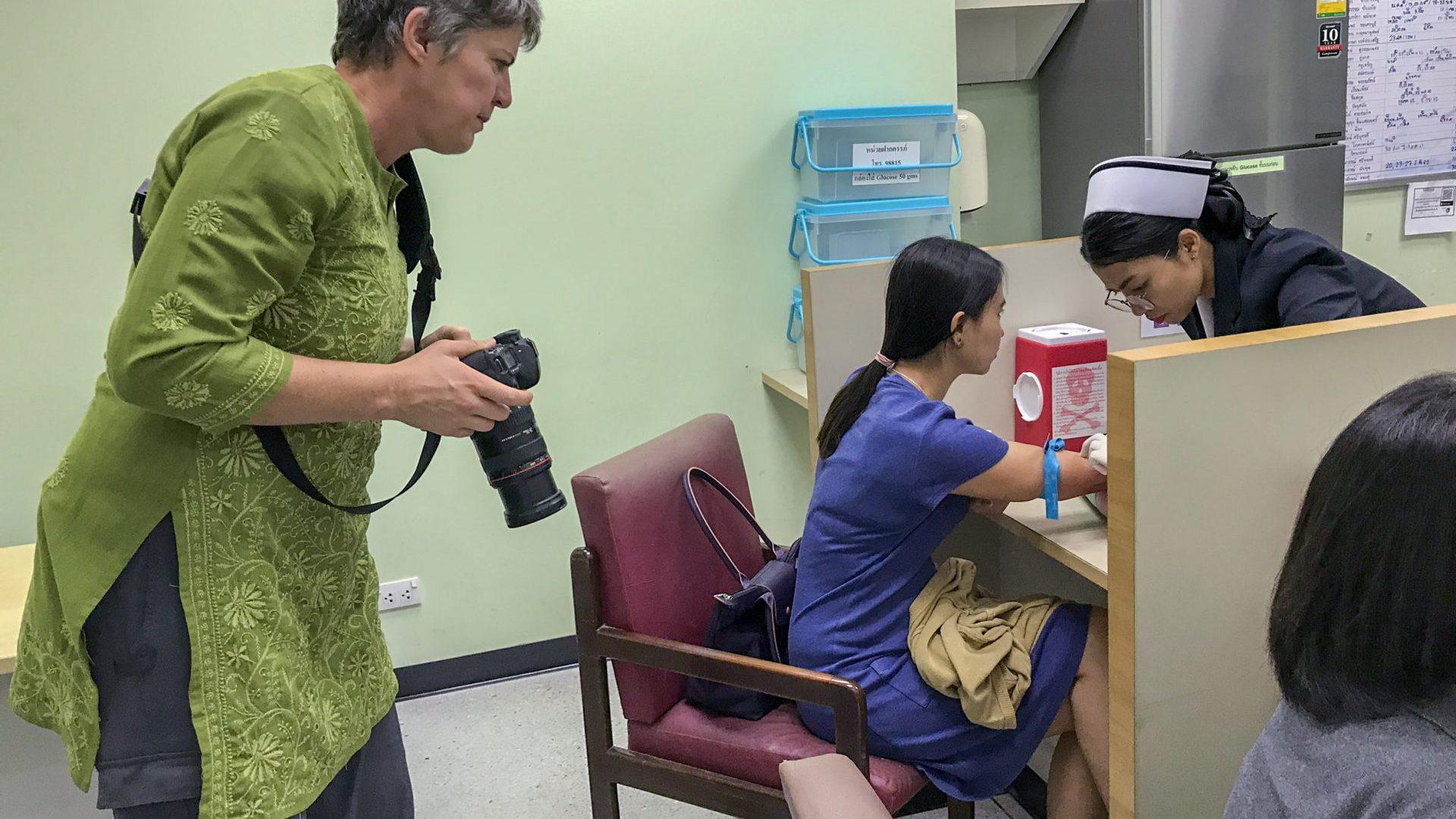 The Documentation at Siriraj by World Health Organization South-East Asia Regional Office