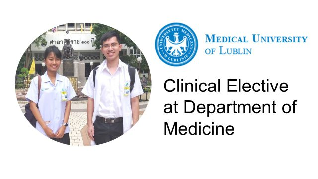 Elective Study at Department of Medicine
