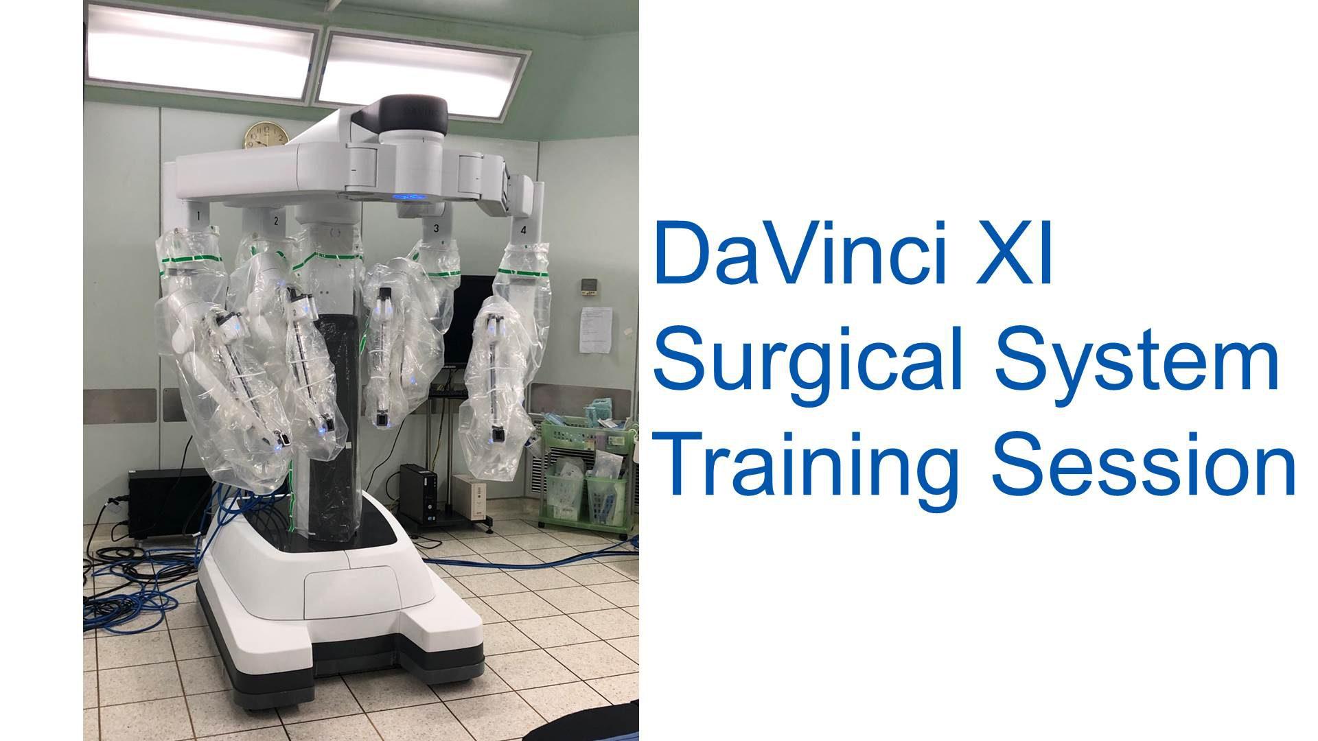 DAVINCI Xi Training Session at Siriraj