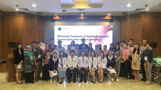 "Siriraj International Conference ""Multimodal Treatments of Spastic Hypertonia: Chemoneutolysis and Other Advanced Interventions"""