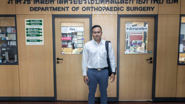 Myanmar Doctor Attend Siriraj's Clinical Observership Program