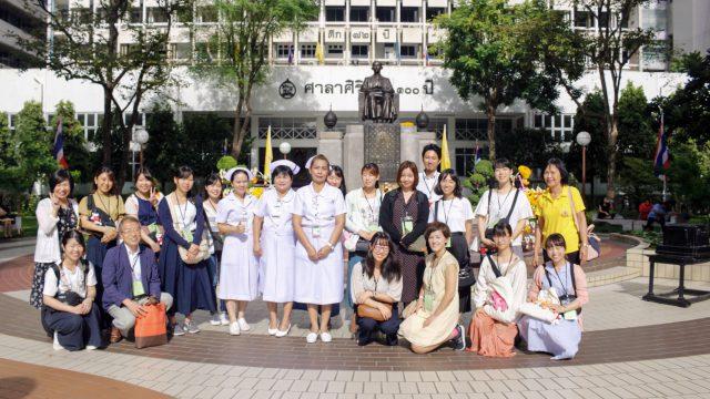 Students from Nagoya University Attend the Short Training Program at Siriraj