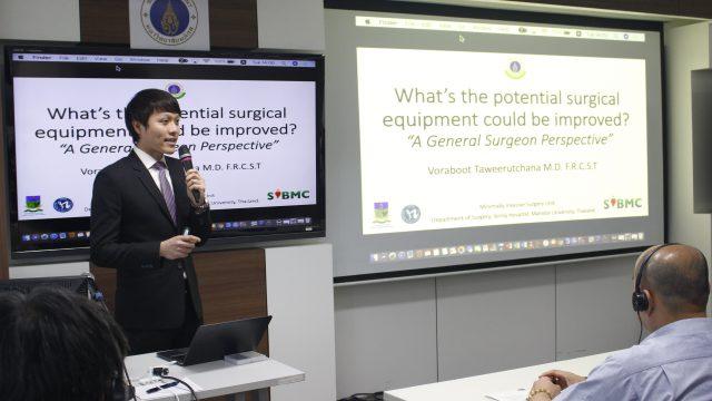 Thai Medical Device Conference at Siriraj Hospital
