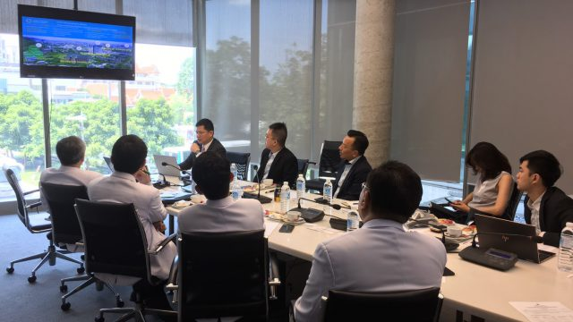 Foxconn Technology Group – Health Technology Business Group Visits Siriraj