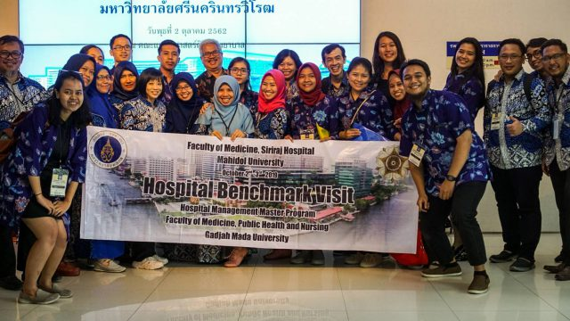 Gadjah Mada University Attended the Hospital Benchmark Study at Siriraj