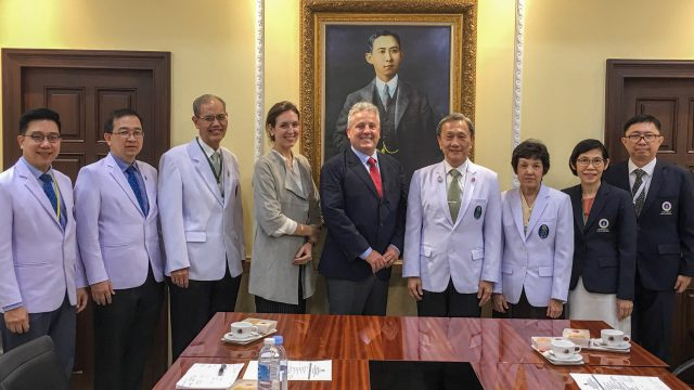 A Discussion on Educational Collaborations Between OHSU and Siriraj