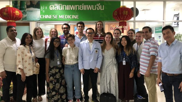 School for International Training Study Abroad India Visits Golden Jubilee Medical Center