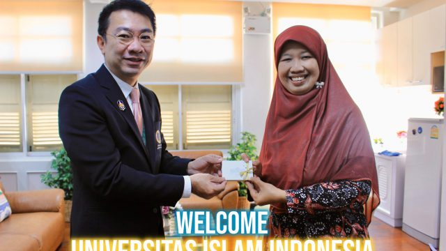 Universitas Islam Indonesia Visits Siriraj