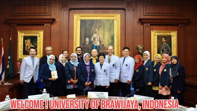 University of Brawijaya, Indonesia visits Siriraj Hospital