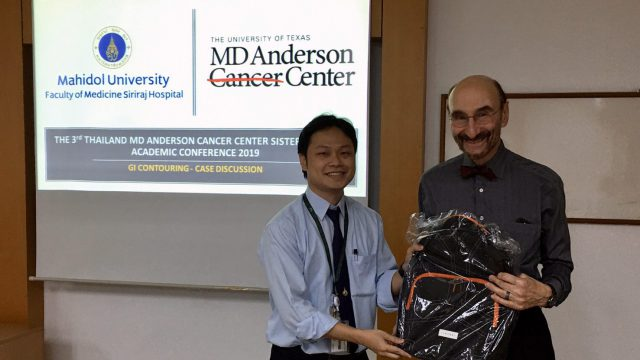 The 3rd Thailand MD Anderson Cancer Center Sister Institute Academic Conference 2019