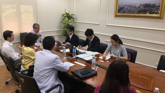 The National Center for Global Health and Medicine Japan Visits Siriraj