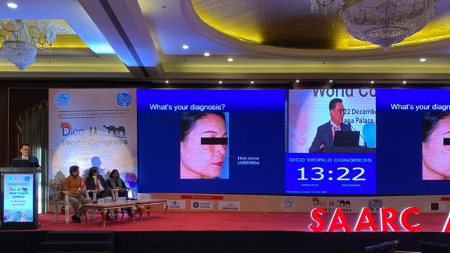 Siriraj Faculty Attended the World Congress Dialogues in Clinical Dermatology (DiCD 2019)