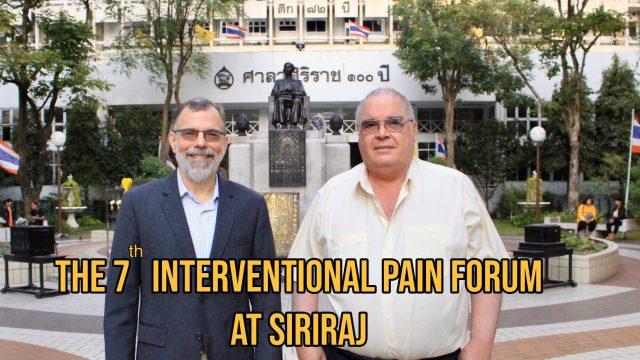 7th Siriraj Interventional Pain Forum
