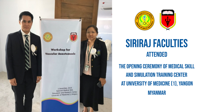 The Opening Ceremony of Medical Skill and Simulation Training Center in Myanmar