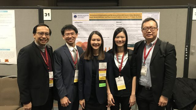 "Siriraj Faculty Abroad at ""66th Annual Meeting of the American Academy of Child and Adolescent Psychiatry"" in USA"