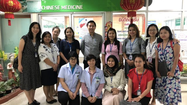 Faculty of Nursing, Mahidol University Visits the Golden Jubilee Medical Center