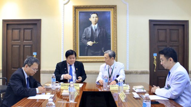 President of Chinal Medical University Taiwan Visits Siriraj