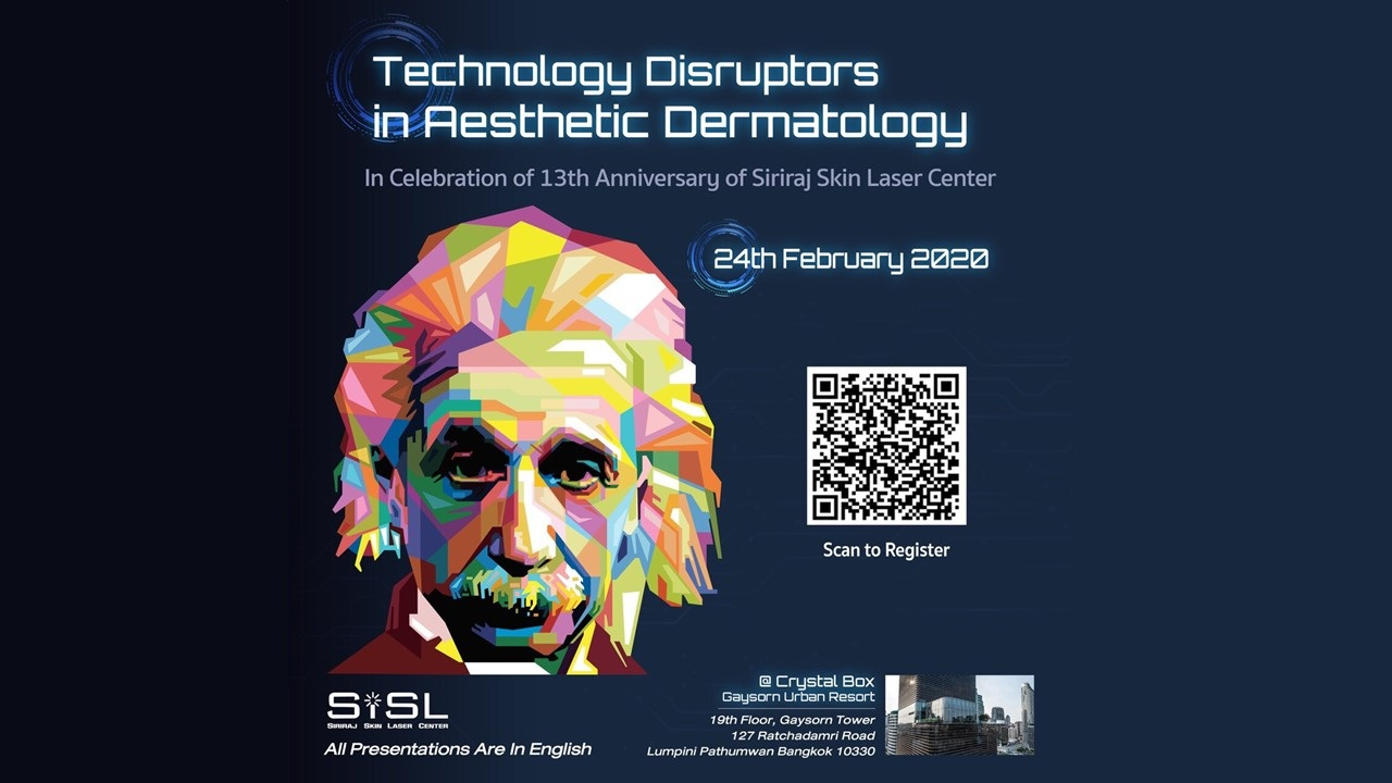 """International Conference """"Technology Disruptors in Aesthetic Dermatology"""""""