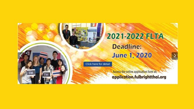 Competition for Fulbright Foreign Language Teaching Assistant Program (FLTA) For the Academic Year 2021-2022